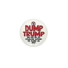 Dump Trump 2012 Mini Button