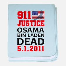 Osama bin Laden Dead baby blanket