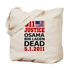 Osama bin Laden Dead Tote Bag