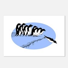 Funny Penguins Postcards (Package of 8)