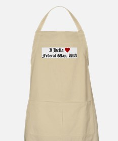 Hella Love Federal Way BBQ Apron