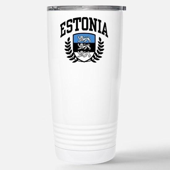 Estonia Stainless Steel Travel Mug