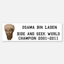 World Hide and Seek Champion Sticker (Bumper)