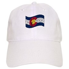 Breckenridge Colorado Flag Baseball Cap