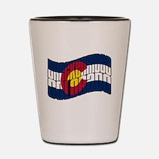 Breckenridge Colorado Flag Shot Glass