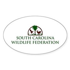 SCWF Oval Decal