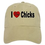 I Love Chicks Cap
