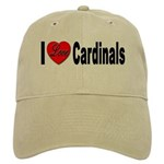 I Love Cardinals Cap