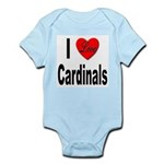 I Love Cardinals Infant Creeper