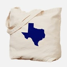 Texas - Blue Tote Bag