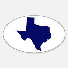 Texas - Blue Decal