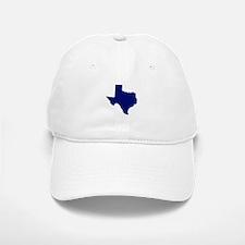 Texas - Blue Baseball Baseball Cap