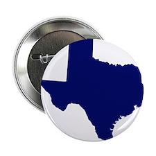"""Texas - Blue 2.25"""" Button"""