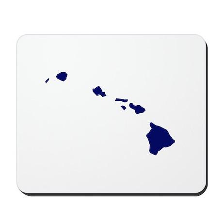 Hawaii - Blue Mousepad
