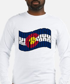 Durango Colorado Flag Long Sleeve T-Shirt
