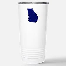 Georgia - Blue Travel Mug