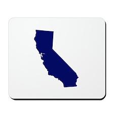 California - Blue Mousepad
