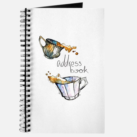 Messy Teacups Address Book
