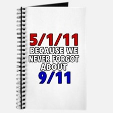 5/1/11 Because We Never Forgot 9/11 Journal