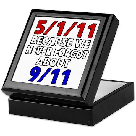 5/1/11 Because We Never Forgot 9/11 Keepsake Box