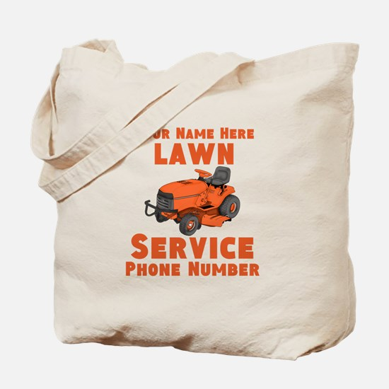 Lawn Service Tote Bag