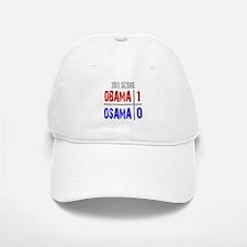 Obama 1 Osama 0 Baseball Baseball Cap