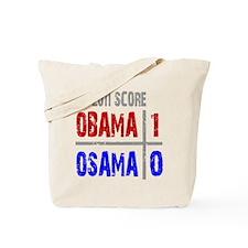 Obama 1 Osama 0 Tote Bag