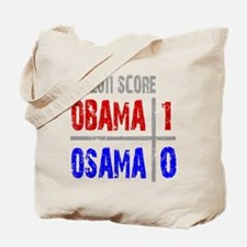 Obama 1 Osama 0 Tote Bag