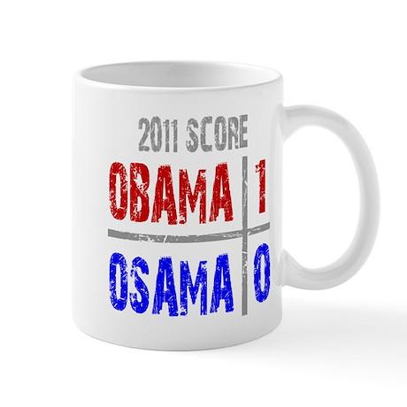 Obama 1 Osama 0 Mug