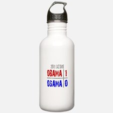 Obama 1 Osama 0 Water Bottle
