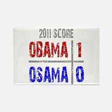 Obama 1 Osama 0 Rectangle Magnet