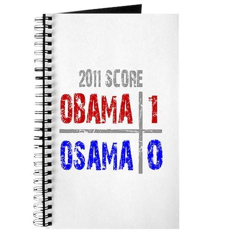 Obama 1 Osama 0 Journal