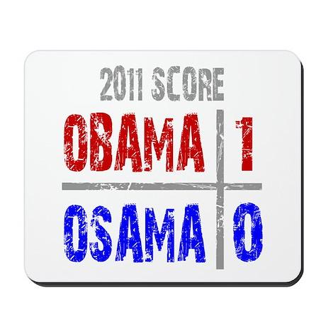 Obama 1 Osama 0 Mousepad