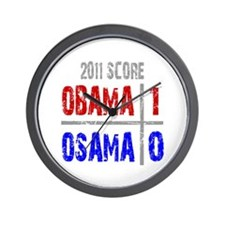 Obama 1 Osama 0 Wall Clock