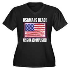 Mission Accomplished Osama Dead Women's Plus Size