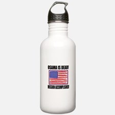 Mission Accomplished Osama Dead Water Bottle
