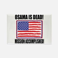 Mission Accomplished Osama Dead Rectangle Magnet