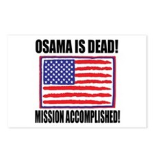 Mission Accomplished Osama Dead Postcards (Package