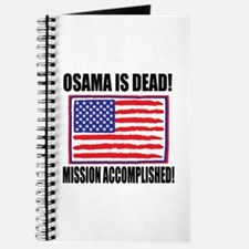 Mission Accomplished Osama Dead Journal