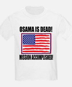 Mission Accomplished Osama Dead T-Shirt