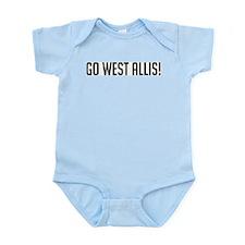 Go West Allis! Infant Creeper