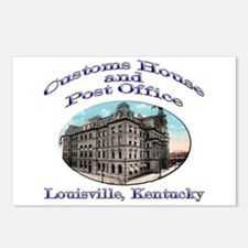 Louisville Customs House Postcards (Package of 8)
