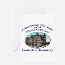 Louisville Customs House Greeting Card