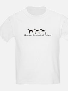 Group O' GSPs Kids T-Shirt