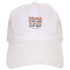 Alfred Hitchcock Drama Quote Baseball Cap