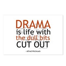 Alfred Hitchcock Drama Quote Postcards (Package of