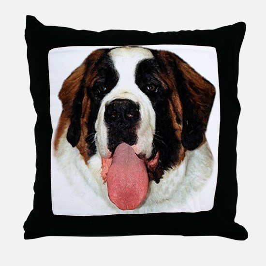 Saint 8 Throw Pillow