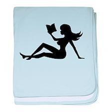 Cute Books baby blanket