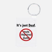 It's Just Deaf Keychains