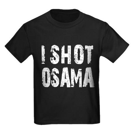 I Shot Osama Kids Dark T-Shirt